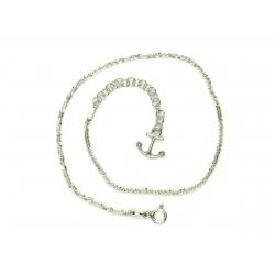 Bransoletka na nogę KOTWICA MARG. 27cm srebro 925