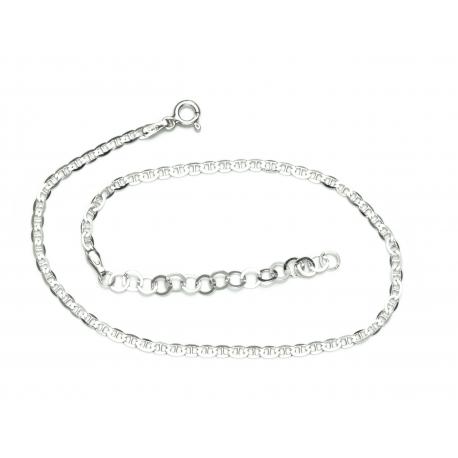 bransoletka na nogę TDS 28cm srebro 925