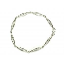 Bransoletka srebrna 925 wysoki połysk 18,5 cm