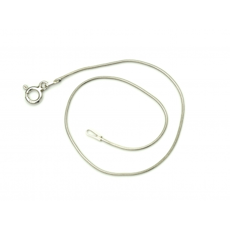 Bransoletka linka okrągła 19cm 0,9mm srebro 925