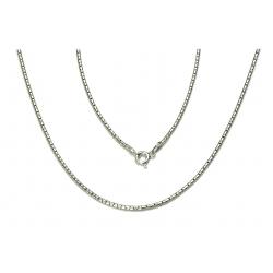 ŁAŃCUSZEK COREANA CORA 50cm srebrna pr.925 -50%