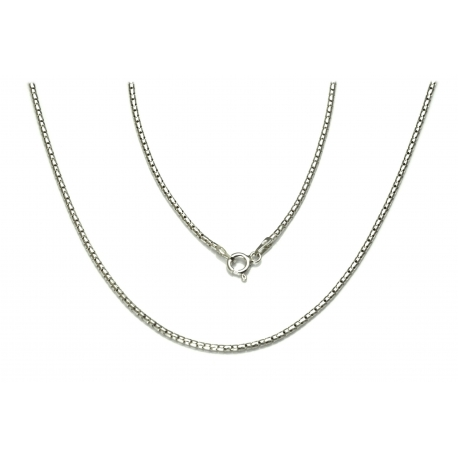 ŁAŃCUSZEK COREANA CORA 40cm srebrna pr.925 -50%