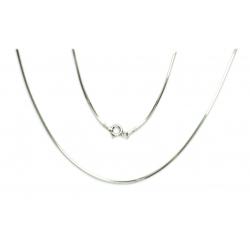 Łańcuszek LINKA 0,95mm 50cm srebro 925