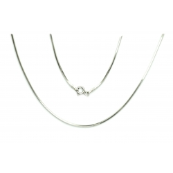 Łancuszek LINKA 0,95mm 50cm srebro 925 GRATIS