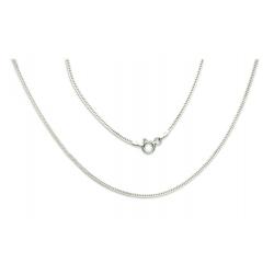 ŁAŃCUSZEK LISI OGON 40cm srebro 925 1,4 mm