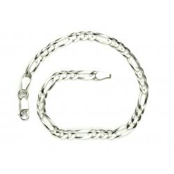 Bransoletka FIGARO 19cm lub 21cm 3,5mm srebro 925