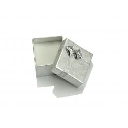 Eleganckie srebrne pudełeczko 5x4x2,5cm