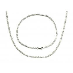 Srebrny Komplet MARGARITA srebro pr. 925