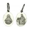 Srebrny medalik Jezus / Matka Boska pr. 925 GRATIS