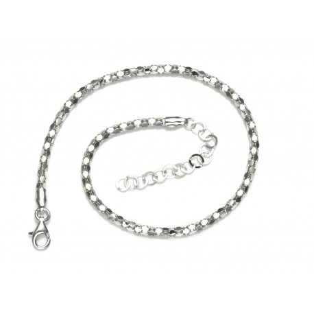 bransoletka na nogę CORA+CORA 28cm srebro 925