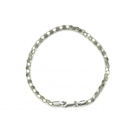 Bransoletka KOREANKA 3mm 20,5cm srebro 925