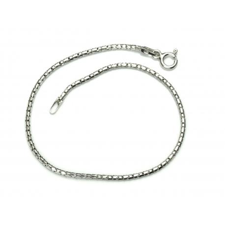 Bransoletka COREANA 1,5mm 18,5cm srebro 925