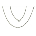ŁAŃCUSZEK COREANA CORA 60cm srebrna pr.925 -50%