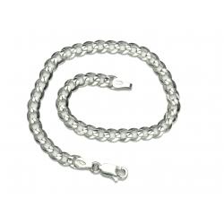 Bransoletka PANCERKA 19cm lub 21cm 4mm srebro 925