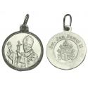 SREBRNY MEDALIK ŚWIĘTY JAN PAWEŁ II srebro 925