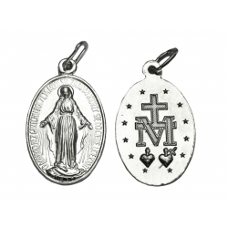 Srebrny Medalik Matka Boża Niepokalana SREBRO 925
