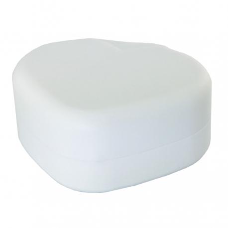Pudełko białe serce - Komunia