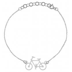 Bransoletka Rower Celebrytka 20cm Srebro 925