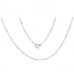 Łańcuszek Ankier z Pałeczkami 110cm Srebro 925